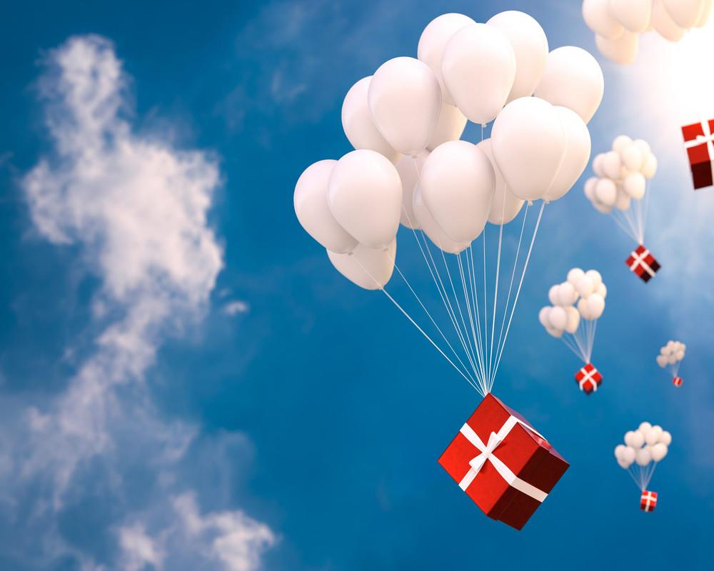 poczta balonowa poznań bukiety z balonów z helem Poznań