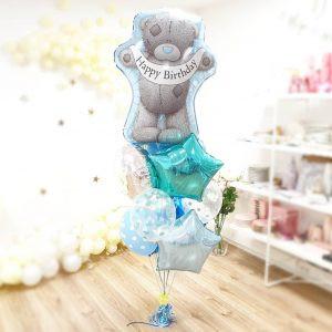 bukiet z balonów z helem urodzinowy bukiet na urodziny Balony z helem Poznań Malwowa 36