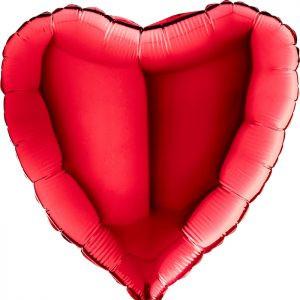 Balony Z Helem Poznań Czerwone Serce Balony Na Walentynki Niespodzianka Na Walentynki Pomysł Na Prezent