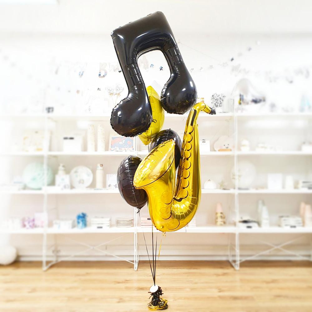 bukiet z balonów poznań bukiety z balonów pomysł na prezent dla muzyka