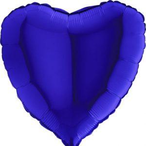 Balony Z Helem Poznań Balon Blue Capri Niebieski Balon