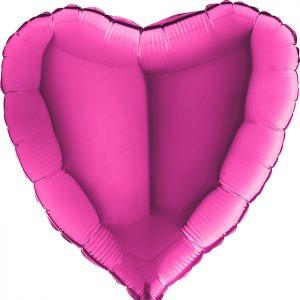 Balony Z Helem Poznań Balon Różowy Serce Balony Na Hel Bukiet Balonowy Pomysł Na Prezent Dla żony