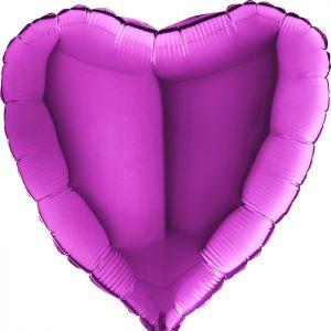 Balony Z Helem Poznań Fioletowy Balon Serce Pomysł Na Prezent Na Rocznicę ślubu Rocznica Związku Co Dać W Prezencie