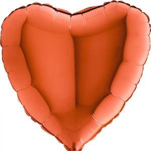 Balony Z Helem Poznań Pomarańczowe Balony Serca Na Hel Walentynkowe Balony Balony Na Rocznicę