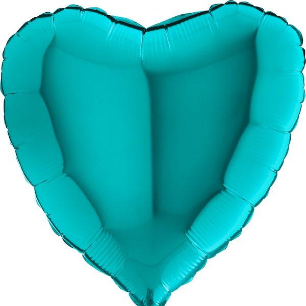 Balony Z Helem Poznań Serce Tiffany Kolorowe Balony Na Urodziny Latające Balony Imprezowe