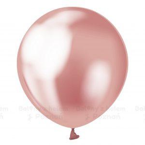 Balony Chrom Balony Metaliczne Balon Metaliczny Poznań Balony Z Helem W Poznaniu Najlepsze Balony Z Helem Poznań Różowy Rose Gold Balon Chromowany