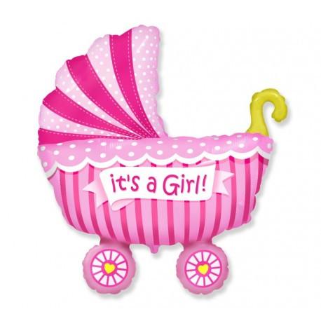 Balony Na Baby Shower Balony Na Narodziny Balony Z Helem Poznań Dekoracje Na Baby Shower Dla Dziewczynki