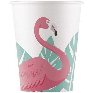 Kubeczki Flamingo Party Flamingowe Kubeczki Kolekcja Flaming Impreza Z Flamingami Balony Z Helem Poznań