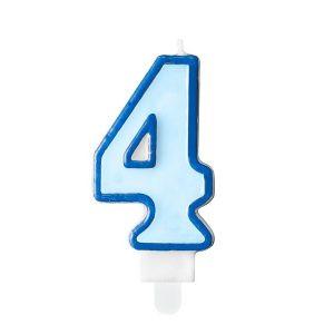 Niebieska świeczka Cyfra 4 świeczki Cyfry ćwieczka Cyfra świeczka Urodzinowa świeczka Na Tort świeczka Urodzinowa Na Tort świeczki Urodzinowe Poznań świeczka Na Tort W Poznaniu Balony Z Helem