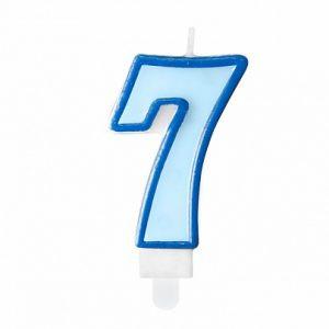 Niebieska świeczka Cyfra 7 świeczki Cyfry ćwieczka Cyfra świeczka Urodzinowa świeczka Na Tort świeczka Urodzinowa Na Tort świeczki Urodzinowe Poznań świeczka Na Tort W Poznaniu Balony Z Helem