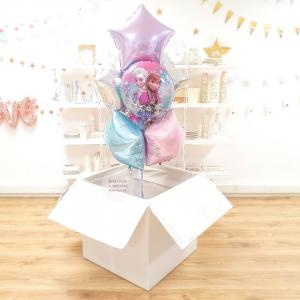 Pudełko Z Balonami Kraina Lodu Balony Kraina Lodu Balony Frozen Pudło Z Balonami Z Helem Pudło Niespodzianka Balony Z Helem Poznań