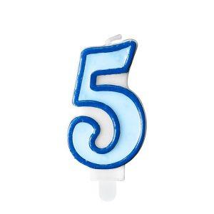 świeczka Niebieska 5 świeczki Cyfry ćwieczka Cyfra świeczka Urodzinowa świeczka Na Tort świeczka Urodzinowa Na Tort świeczki Urodzinowe Poznań świeczka Na Tort W Poznaniu Balony Z Helem Poznań