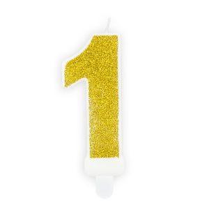 Złota świeczka Cyfra 1 świeczki Cyfry ćwieczka Cyfra świeczka Urodzinowa świeczka Na Tort świeczka Urodzinowa Na Tort świeczki Urodzinowe Poznań świeczka Na Tort W Poznaniu Balony Z Helem Pozna