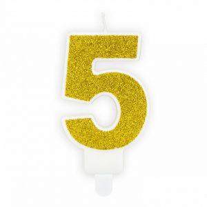 Złota świeczka Urodzinowa 5 świeczki Cyfry ćwieczka Cyfra świeczka Urodzinowa świeczka Na Tort świeczka Urodzinowa Na Tort świeczki Urodzinowe Poznań świeczka Na Tort W Poznaniu Balony Z Helem