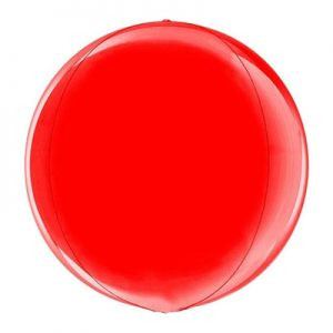 Globe 15'' Red