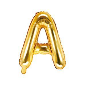Balon Foliowy A 35 Cm Złoty
