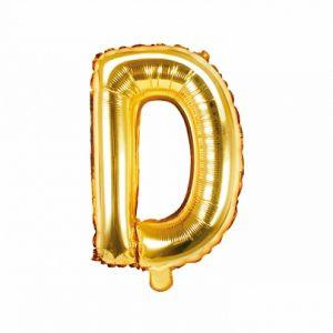Balon Foliowy D 35 Cm Złoty