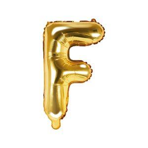 Balon Foliowy F 35 Cm Złoty