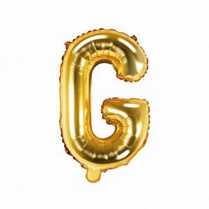 Balon Foliowy G 35 Cm Złoty