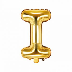 Balon Foliowy I 35 Cm Złoty