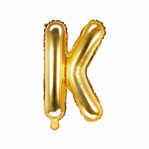 Balon Foliowy K 35 Cm Złoty