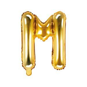 Balon Foliowy M 35 Cm Złoty