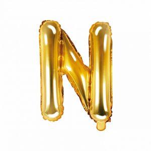 Balon Foliowy N 35 Cm Złoty