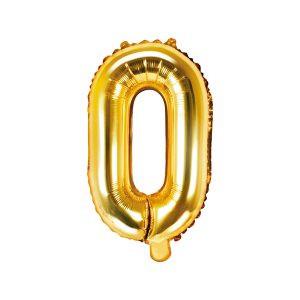 Balon Foliowy O 35 Cm Złoty