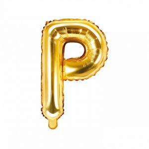 Balon Foliowy P 35 Cm Złoty