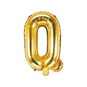 Balon Foliowy Q 35 Cm Złoty