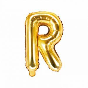 Balon Foliowy R 35 Cm Złoty