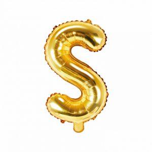 Balon Foliowy S 35 Cm Złoty