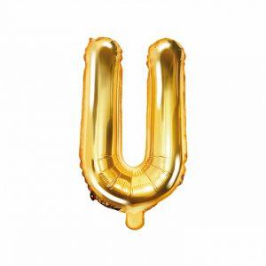 Balon Foliowy U 35 Cm Złoty
