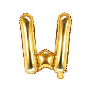 Balon Foliowy W 35 Cm Złoty