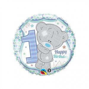 Balon Rodzinowy Balon Niebieski Balon Na Urodziny Balon Miś Balon Happy Birthday Balony Z Helem Poznań