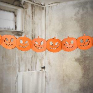 Girlanda Bibułowa Girlanda Dynie Girlanda Na Halloween Girlanda Halloweenowa Balony Z Helem Poznań