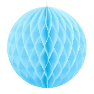 Honeycomb Kula Bibułowa Ozdoba Dekoracja Papierowa Ozdoba Z Papieru Kula Bibułowa Niebieska
