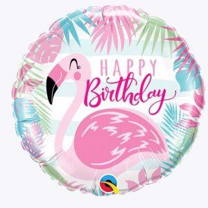 Balon Foliowy Happy Birthday Flaming Balon Foliowy Flaming Balony Z Helem Poznan