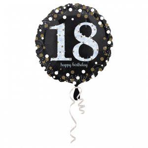Balon Foliowy Na 18 Urodziny Balon Foliowy 18 Balon 18 Balony Z Helem Poznan