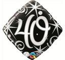 Balon Foliowy Na 40 Urodziny Balon Foliowy 40 Balon 40 Balony Foliowe Balon Foliowy Balony Z Helem Poznan