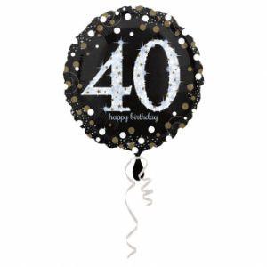 Balon Foliowy Na 40 Urodziny Balon Foliowy 40 Balon 40 Balony Z Helem Poznan