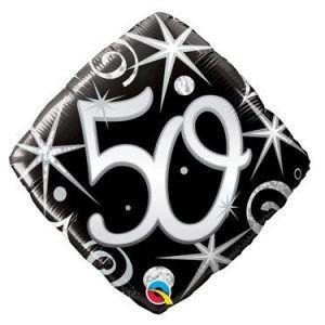 Balon Foliowy Na 50 Urodziny Balon 50 Urodzin Balon 50 Balony Z Helem Poznan