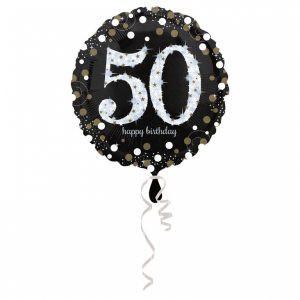 Balon Foliowy Na 50 Urodziny Balon Foliowy 50 Balon 50 Balony Z Helem Poznan