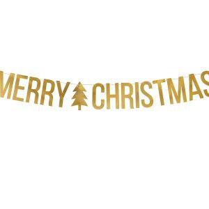 Girlanda Swiateczna Girlanda Merry Christmas Girlanda Na Boze Narodzenie Girlanda Baner Balony Z Helem Poznan
