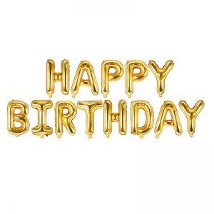 Balony Happy Birthday Do Powieszenia Balony Dekoracja Balonowa Na Urodziny Balony Z Helem Poznan