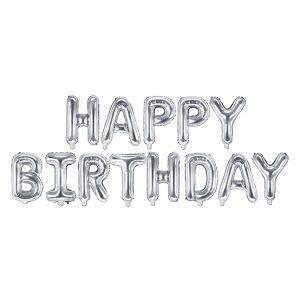 Prezent Na Urodziny Balon Urodzinowy Napis Happy Birthday Dekoracje Z Balonów Niesamowite Pomysły Na Dekoracje Prezent Na Urodziny Dla żony Dekoracje Balonowe, Pomysł Na Prezent